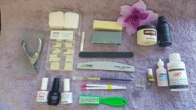 Acrylic Nail Starter Kit - Everything You Need To Do Your Own