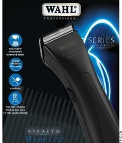 Wahl Stealth Beretto -Black