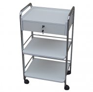 Joiken Trolley with 1 Drawer & 2 Shelves on Castors