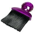 Silver Bullet Purple Neck Brush